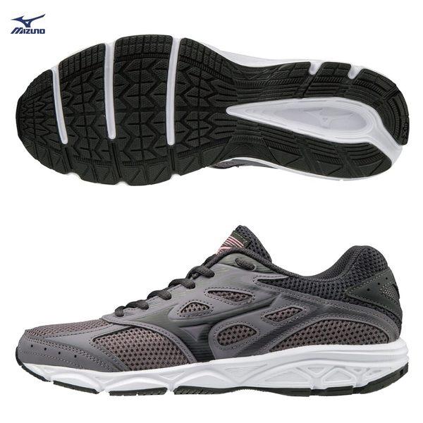 胖媛的店 【美津濃MIZUNO】 MIZUNO SPARK 4 ㄧ般型女款慢跑鞋 K1GA190453(深灰)