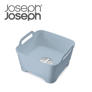 Joseph Joseph 好輕鬆省水洗碗槽(灰藍)