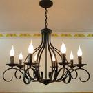設計師美術精品館歐式吊燈田園簡約復古創意燈飾燈具水晶燈客廳燈餐廳臥室燈D8-020