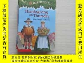 二手書博民逛書店thanksgiving罕見on thursday 882Y10