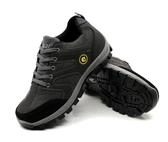 登山鞋春季防水登山鞋耐磨運動徒步鞋實心底旅游男戶外鞋透氣越野爬山鞋 新品特惠