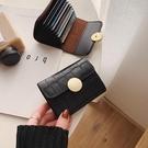卡包 ck小卡包女2021新款潮韓版時尚百搭扣名片夾防消磁信用卡套零錢包【快速出貨八折搶購】
