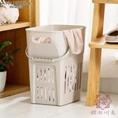 臟衣服收納筐洗衣籃手提浴室日式衣物臟衣籃【櫻田川島】