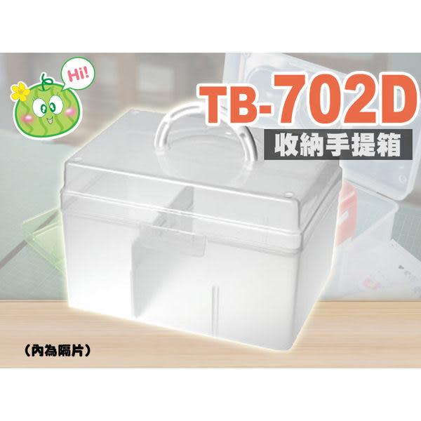 樹德 居家生活手提箱 TB-702D (工具箱/急救箱/收納箱/收納盒)