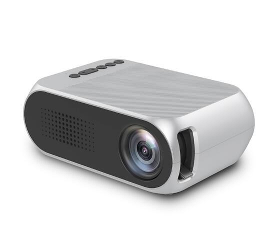 樂佳達yg320家用投影儀高清微型迷你便攜投影機1080p家庭影院宿舍臥室投影安卓無屏電視