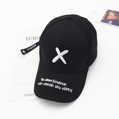 同款帽子男女夏天百搭刺繡字母棒球帽韓版ins遮陽帽鴨舌帽 卡布其诺