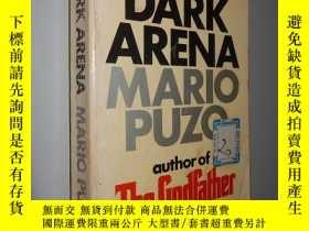 二手書博民逛書店The罕見Dark Arena by Mario Puzo 英文