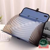 多層文件夾多層文件事務包多功能資料盒整理收納夾【福喜行】