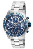 瑞士Invicta Pro Diver 潛水員系列 測速計標記外圍 三眼計時男錶22413 瑞士錶 計時碼表 男士手錶