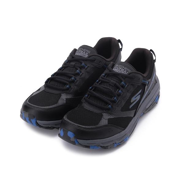 SKECHERS 慢跑系列 GORUN TRAIL ALTITUDE 綁帶運動鞋 深灰黑 220112BKBL 男鞋