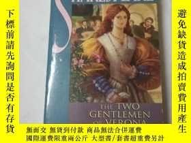 二手書博民逛書店The罕見two gentlemen of veronaY206