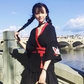 日本和服女學生刺繡開衫外套日式和風和服【奇趣小屋】