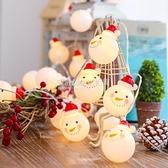 圣誕節裝飾圣誕樹飾品老人雪人掛件燈串店鋪節日裝扮掛飾場景布置 設計師生活百貨