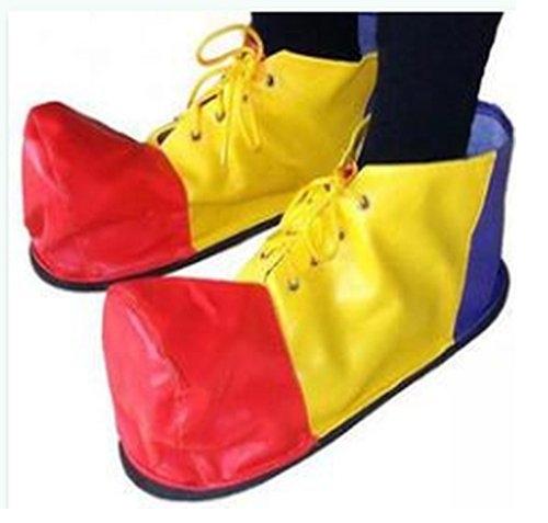 小丑鞋子軟 萬聖節 聖誕節表演派對扮演 節日服飾 舞臺演出道具 小丑服裝