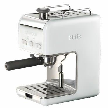 英國 KENWOOD KMIX系列義式咖啡機 白色