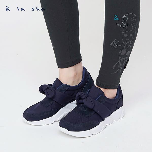 a la sha Qummi 蝴蝶結運動鞋