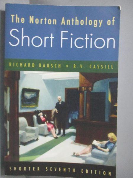 【書寶二手書T2/原文小說_QHA】The Norton Anthology of Short Fiction_Baus