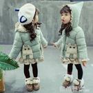 女寶寶棉服冬裝加厚羽絨棉衣兒童洋氣歲棉襖女童冬季嬰兒外套『快速出貨』