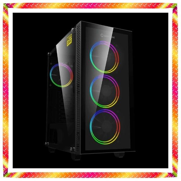 微星 Z490 配置i7-10700KA八核心16GB RGB 記憶體 全機ARGB