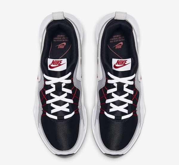 Nike Wmns RYZ365 增高 黑銀 紅勾 芸芸款 女鞋 BQ4153-001