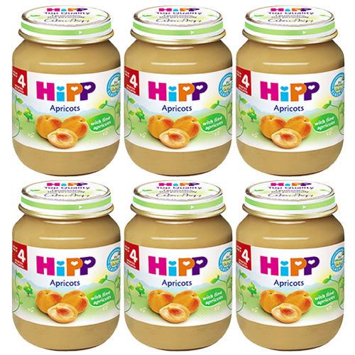 HiPP 喜寶 有機杏桃泥125g x6罐