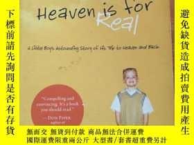 二手書博民逛書店HEAVEN罕見IS FOR REAL(英文原版)Y209851 Todd Burpo 著 Thomas Ne
