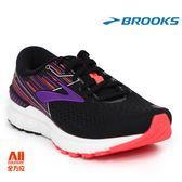 【BROOKS】女款支撐型慢跑鞋 Adrenaline GTS19系列 - 黑色(842E080)-全方位跑步概念館