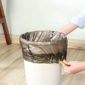 塑膠袋 垃圾袋 廚餘袋 抽繩袋 一次性 塑料袋 防漏 手提式 儲物 收口式 垃圾袋(4入) 【N317】慢思行