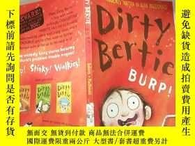 二手書博民逛書店dirty罕見Bertie 骯臟的 伯蒂~Y200392