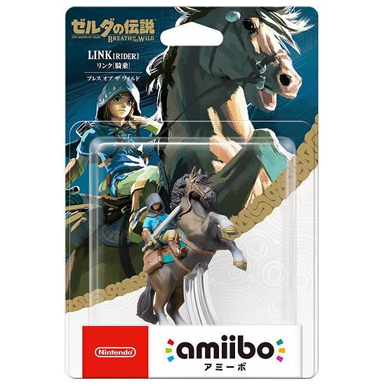 [哈GAME族]免運費 可刷卡 任天堂 amiibo 公仔 薩爾達傳說《林克》騎馬版 適用 Switch NS WiiU 3DS