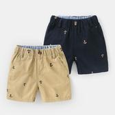 男童短褲子夏裝夏季童裝1歲3小童寶寶兒童休閒中褲嬰兒U11776