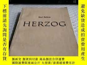 二手書博民逛書店saul罕見bellow herzog赫爾索格Y4211