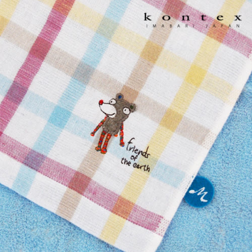 【クロワッサン科羅沙】日本今治~Kontex彩格動物浴巾