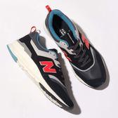 NEW BALANCE 997 黑麂皮 紅 藍 反光 休閒鞋 男 CM997HAI ☆SP☆
