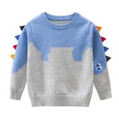 立體恐龍針織長袖上衣 童裝 T-shirt