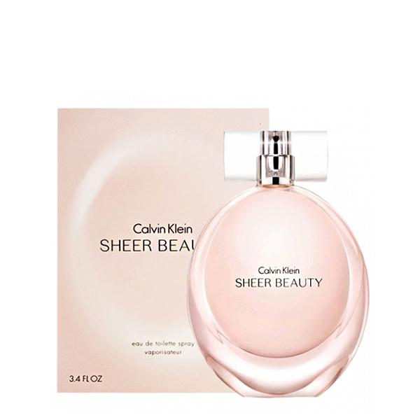 Calvin Klein CK Sheer Beauty 純淨雅緻女性淡香水 100ml 【娜娜香水美妝】