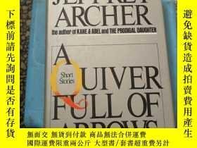 二手書博民逛書店A罕見Quivcr full of Arrows JEFFREY