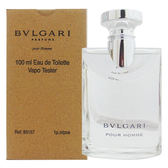 BVLGARI 寶格麗 經典大吉嶺茶中性淡香水 100ml Tester環保包裝 31546《Belle倍莉小舖》