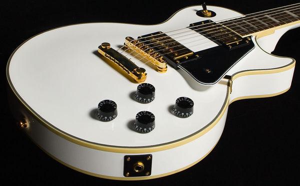 【金聲樂器廣場】全新 公司貨 Epiphone Les Paul Custom ( LP Custom) 白色電吉他