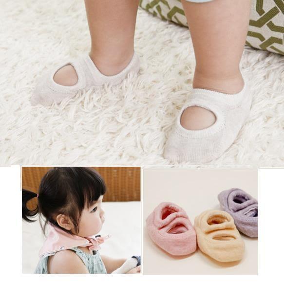 童襪 寶寶襪 洞洞短襪 嬰兒襪 防滑襪 船型襪0-4歲 CA1775 好娃娃