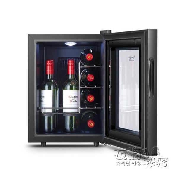 VNICE VN-12T小型恒溫迷你紅酒櫃恒溫酒櫃電子儲酒茶葉冷藏櫃家用 衣櫥秘密
