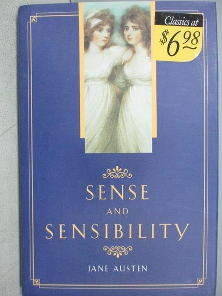 【書寶二手書T4/原文小說_CLP】Sense and Sensibility_Jane Austen