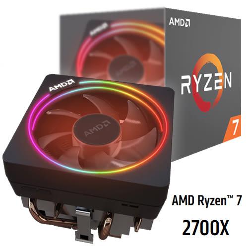 AMD Ryzen 7 2700x/3.7G/AM4 處理器
