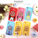 【Disney迪士尼】摩天輪系列 防手滑殼套 iPhone XS/X (5.8吋)