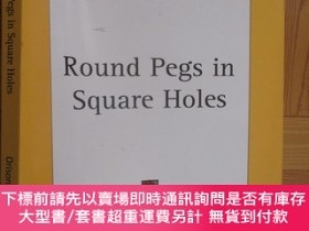 二手書博民逛書店Round罕見Pegs in Square Holes 【詳見圖】Y255351 Orison Swett M