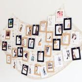 創意漁網裝飾照片牆 簡約壁飾 復古酒吧裝飾 小清新相片牆飾 【快速出貨八五折鉅惠】