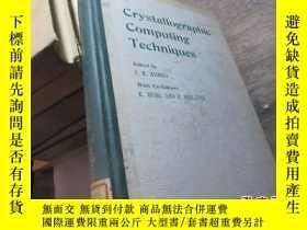 二手書博民逛書店crystallographic罕見computing tech