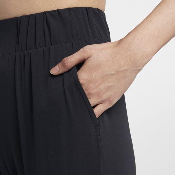 NIKE BLISS 女裝 長褲 九分 慢跑 訓練 縮口 瑜珈 黑 【運動世界】 AQ0295-010