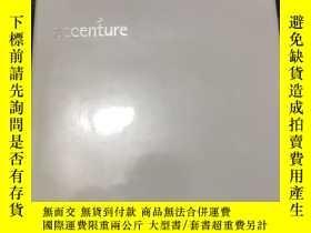 二手書博民逛書店values罕見driven leadership the history of Accenture Accent