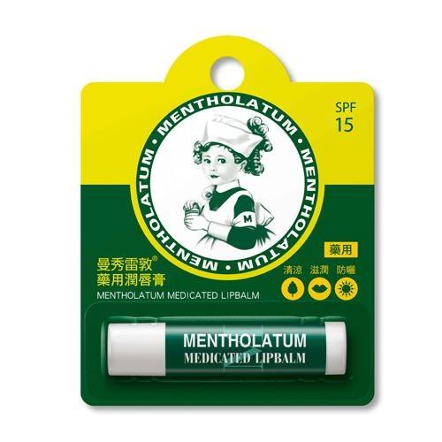 曼秀雷敦藥用潤唇膏3.5g【愛買】
